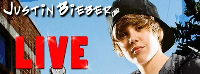 Justin Bieber cover image for facebook timeline