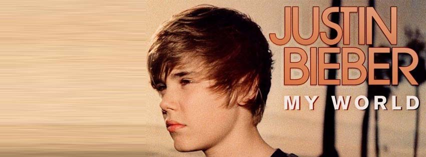 Justin Bieber first covers for facebook timeline