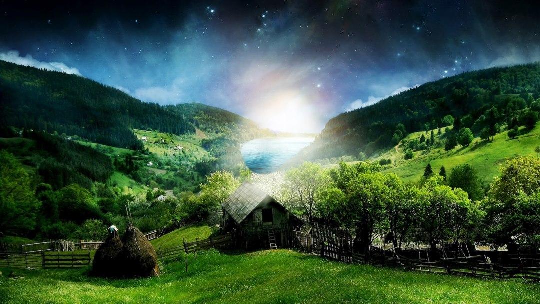 hd green field wallpaper HD Desktop Background 2015