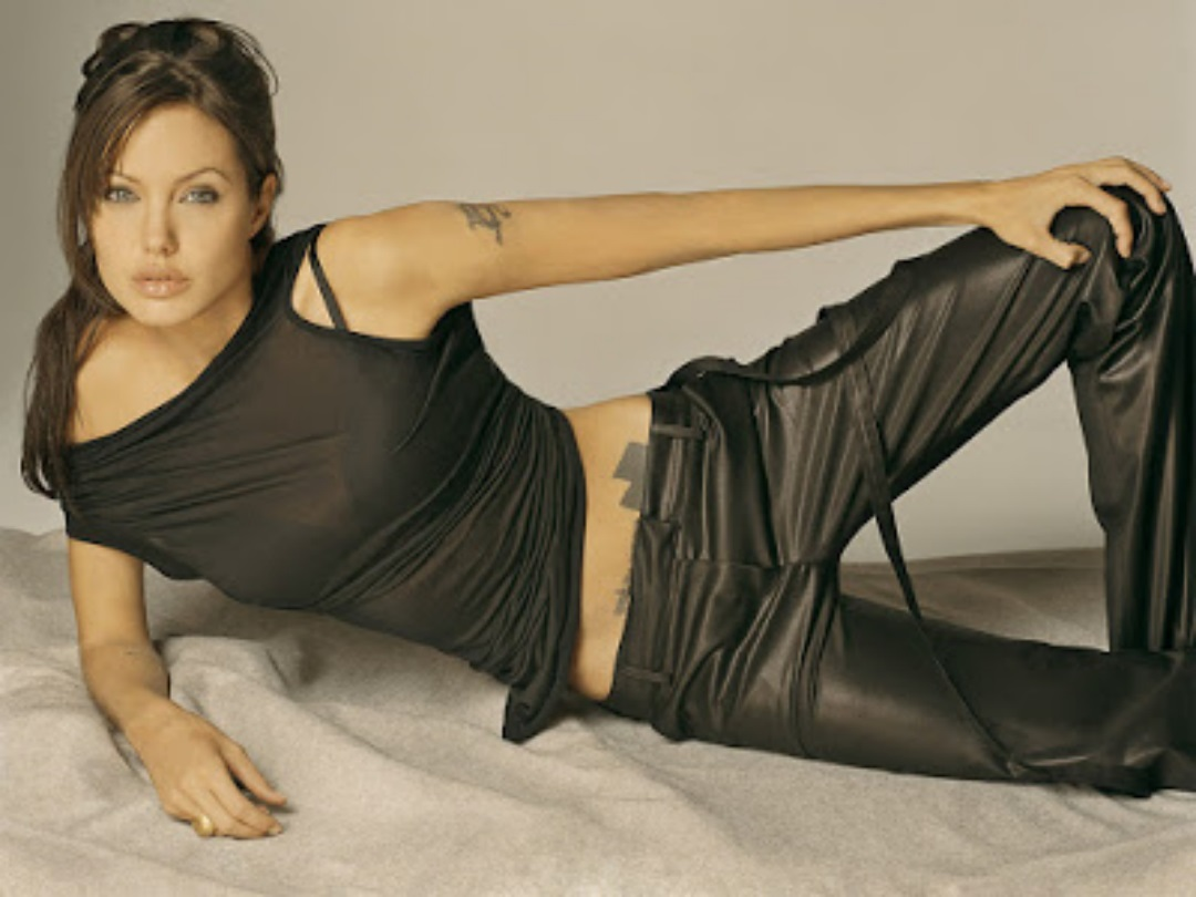 Angelina jolie high resolution wallpapers widescreen