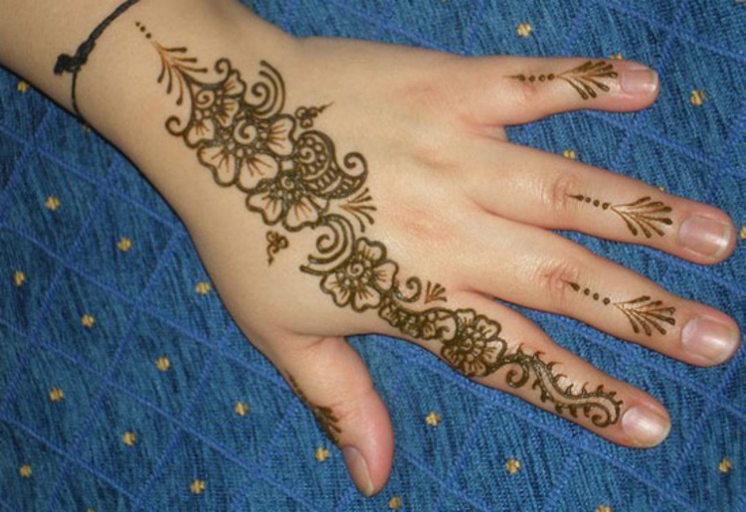 Beautiful Henna designs gallery (1)
