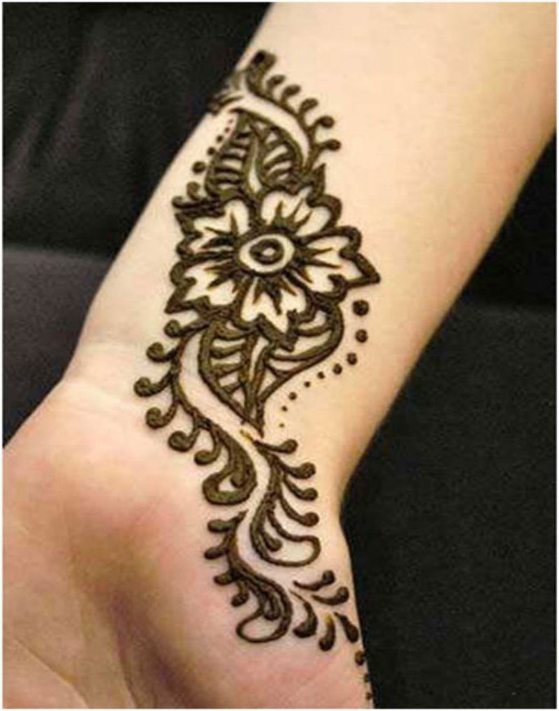Simple Mehndi Design 1  New HD Wallpapers Pictures Free