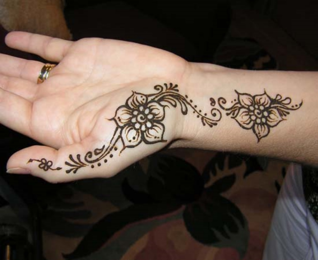Hand Mehndi Easy Design : Simple mehndi designs photos picture hd wallpapers walls