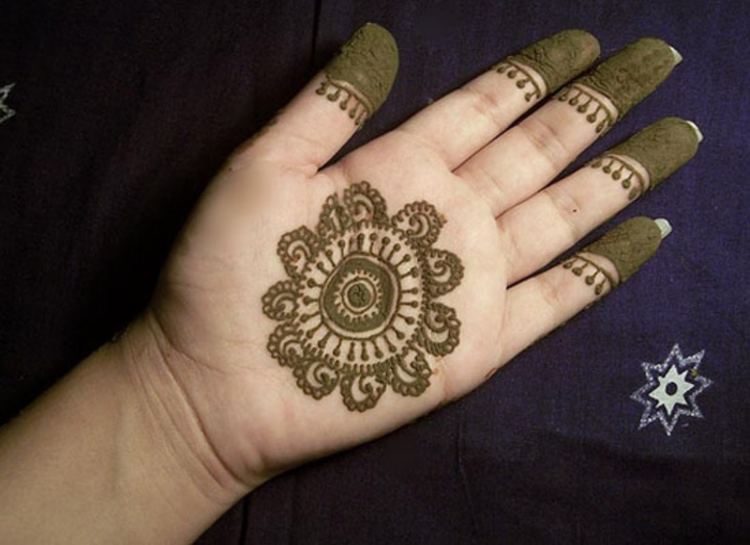 Very easy mahendi design 2015