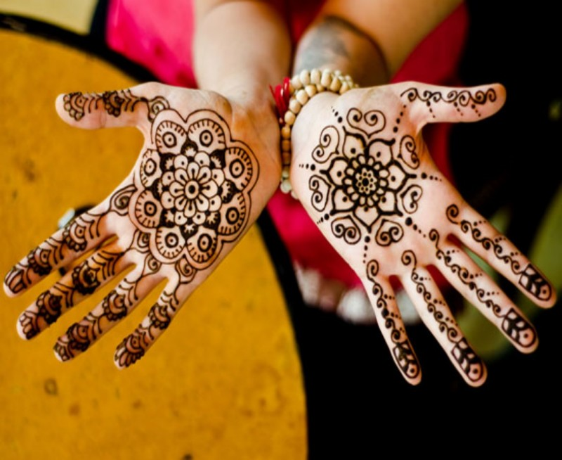 simple mehndi design hd wallpapers