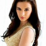 Evelyn Sharma HD Long Maxi BLue Dress