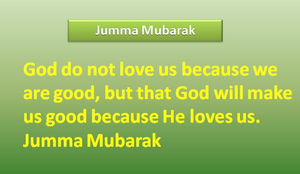 New jumma mubarak quotes in english 2015
