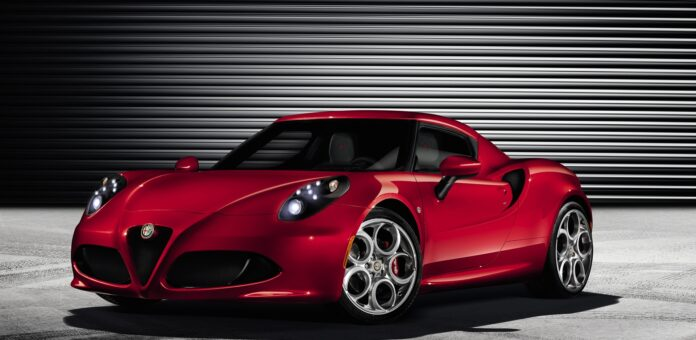 Latest Alfa Romeo 4c Wallpapers Free for Tablet