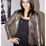 Sonakshi Sinha in shining dress