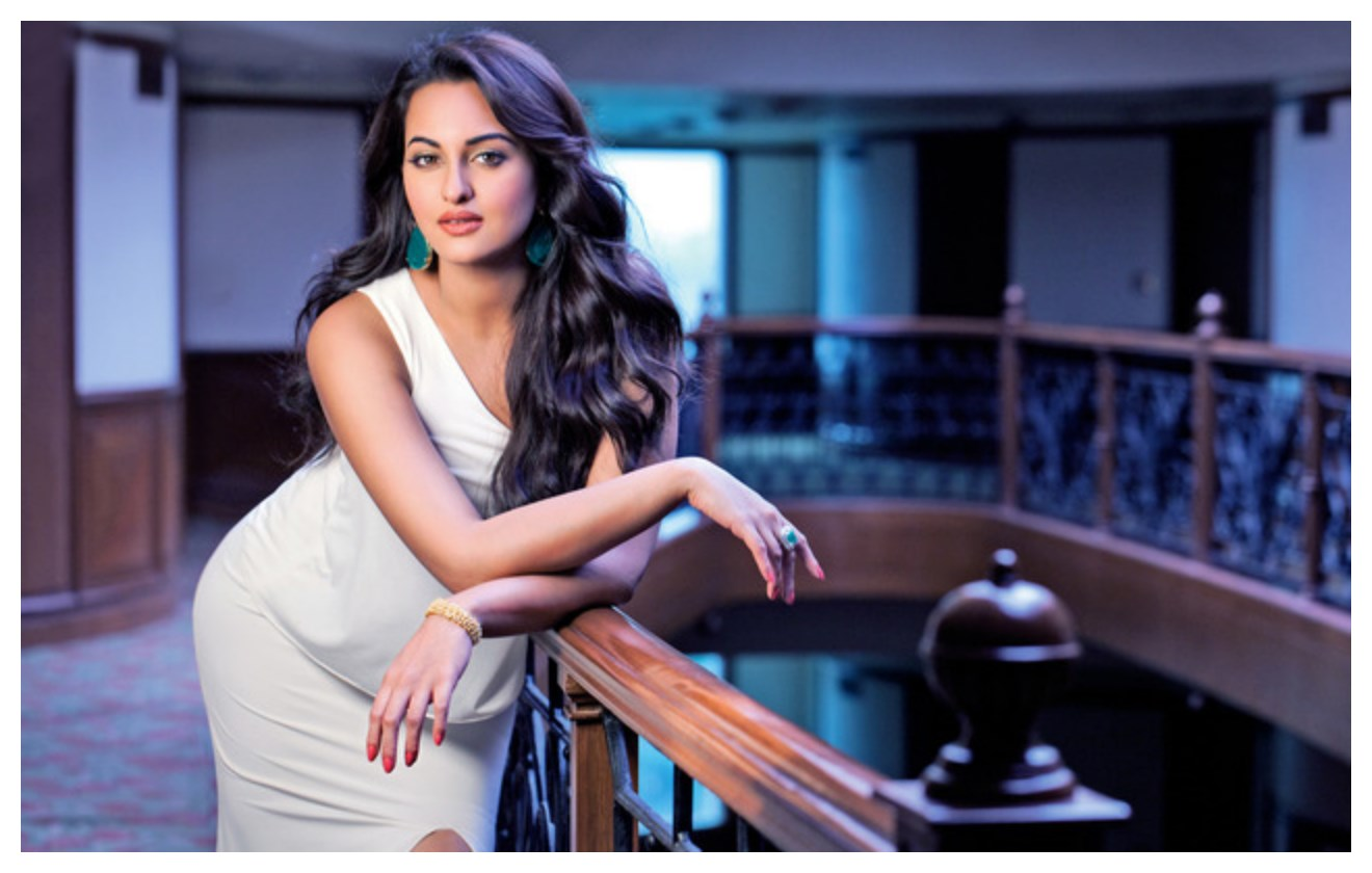 Sonakshi Sinha in romantic style
