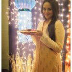 Sonakshi Sinha at pooja point
