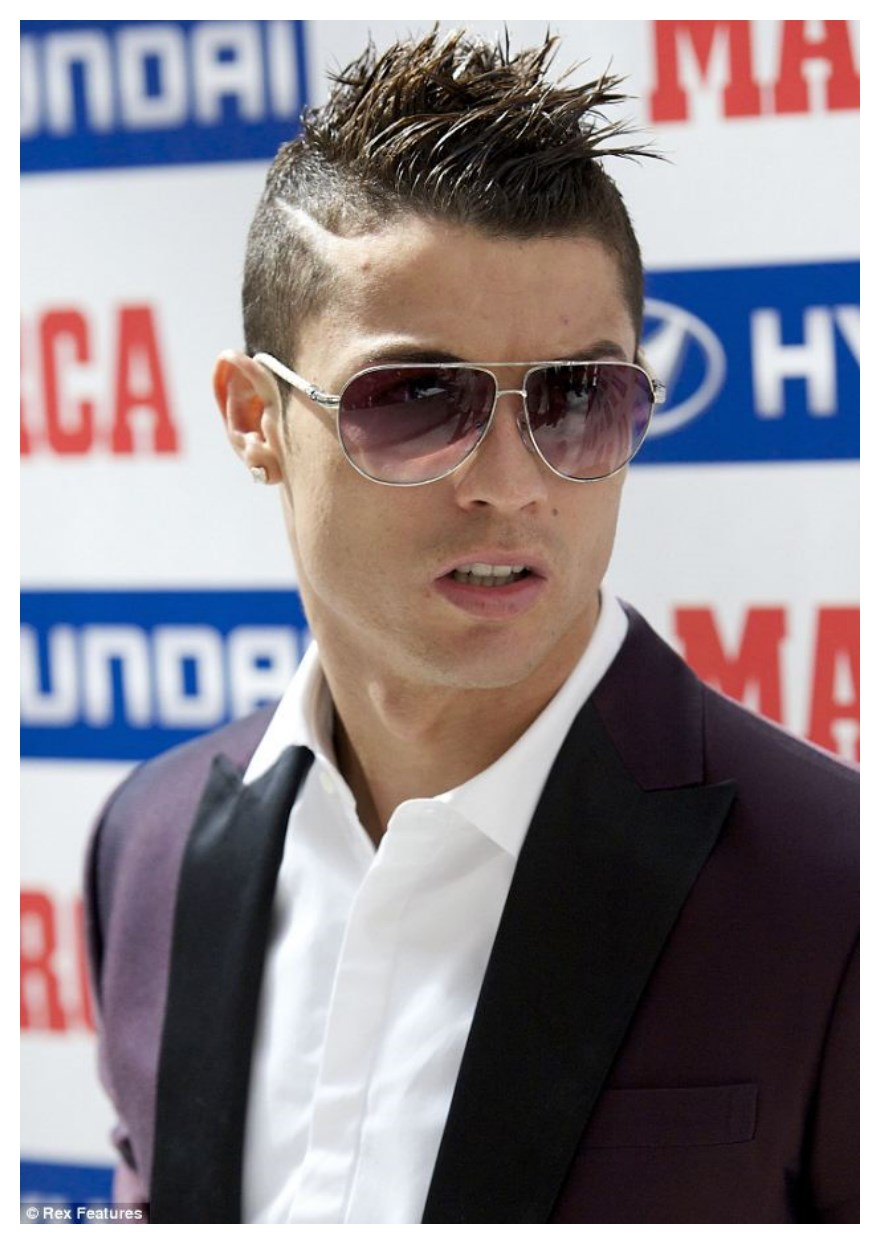 how to get a cristiano ronaldo hairstyle