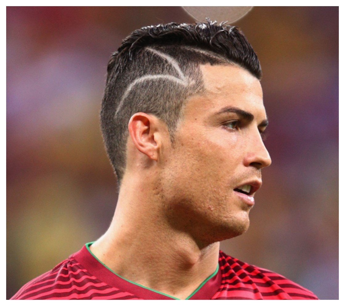 Cristiano Ronaldo Fancy Hairstyle
