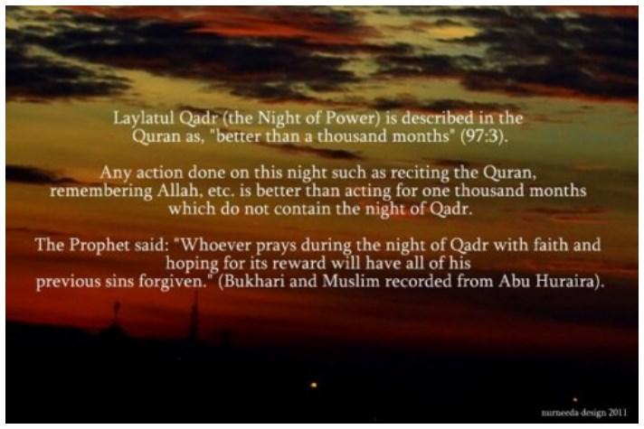Shab-e-Qadr Importance in english