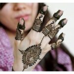 Arabic Trend of mehndi design