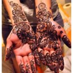 Dark color eid mehndi design download