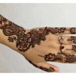 Girls mehandi design Trend
