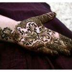 Full HD mehandi design for Eid