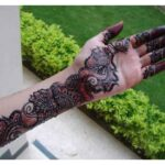 Full Baazo mehndi design for eid