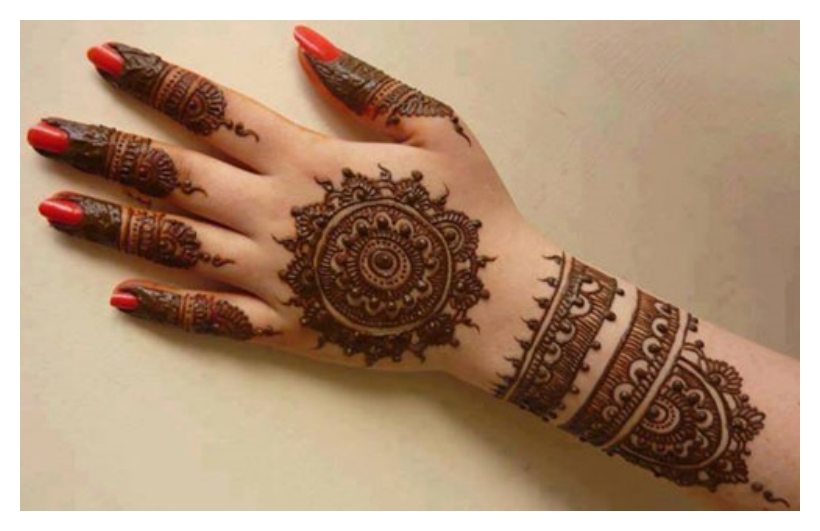 Perfect And Simple Mehndi Designs Photos Picture HD Wallpapers For You Henna