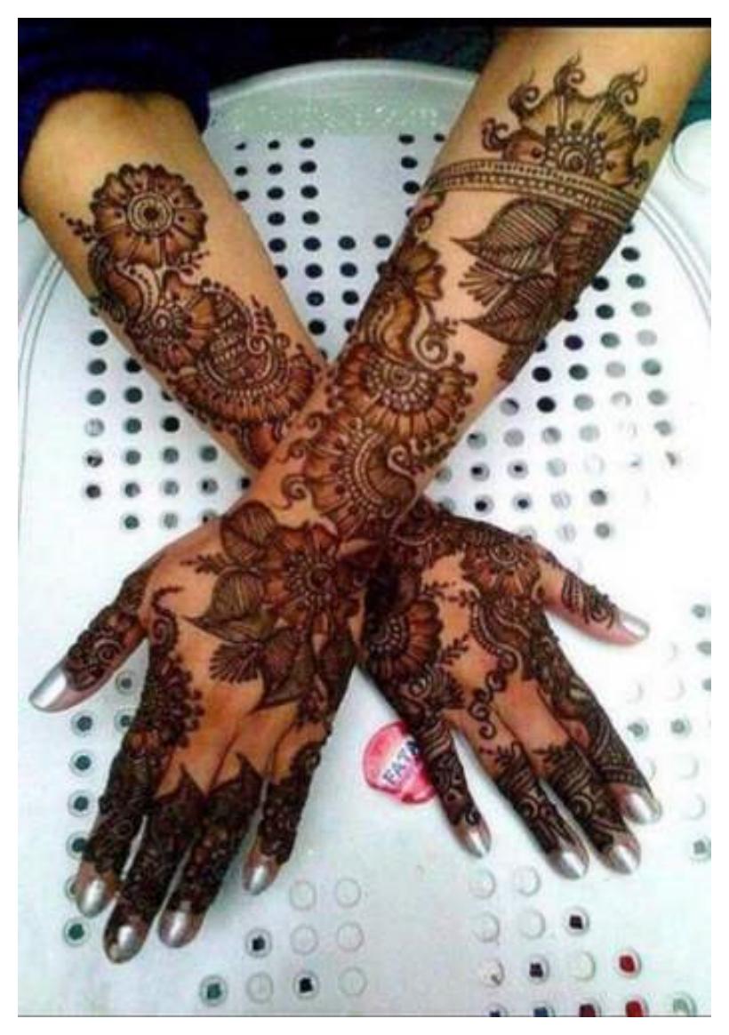 Eid Mehndi Mehandi Hd Design Pictures