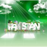 Earth of Pakistan independence day wallpapers