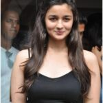 Alia Bhatt night Slik Fashion