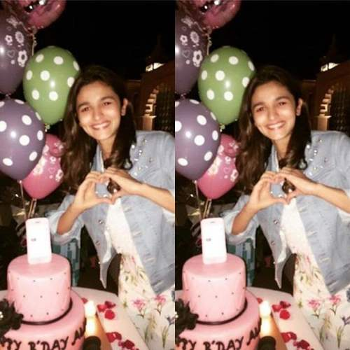 Alia bhatt birthday Pictures March 2016