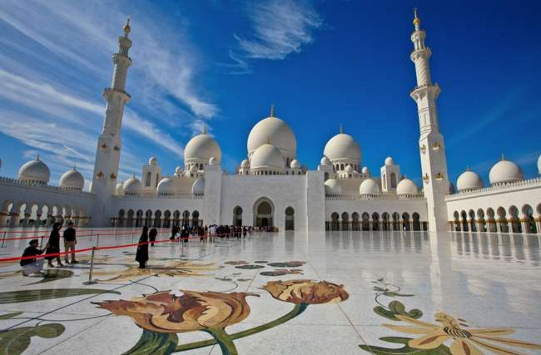 Sheikh Zayed Mosque, Abu Dhabi, UAE Beautiful IMages download