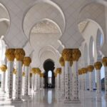 Wallpapers of Sheikh Zayed Grand Mosque Center in Abu Dhabi