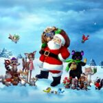 Best Merry Christmas Wishes Wallpapers free for facebook