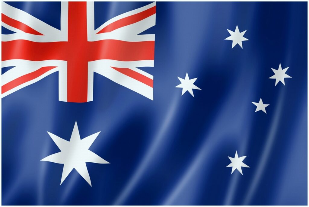 Download Art of Australian flag