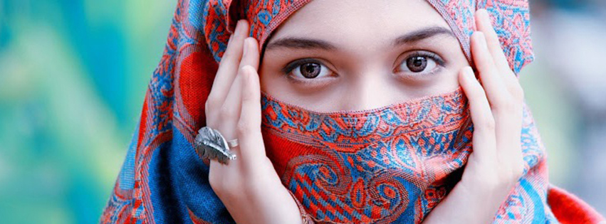 Hidden Face Girl Facebook Covers free download