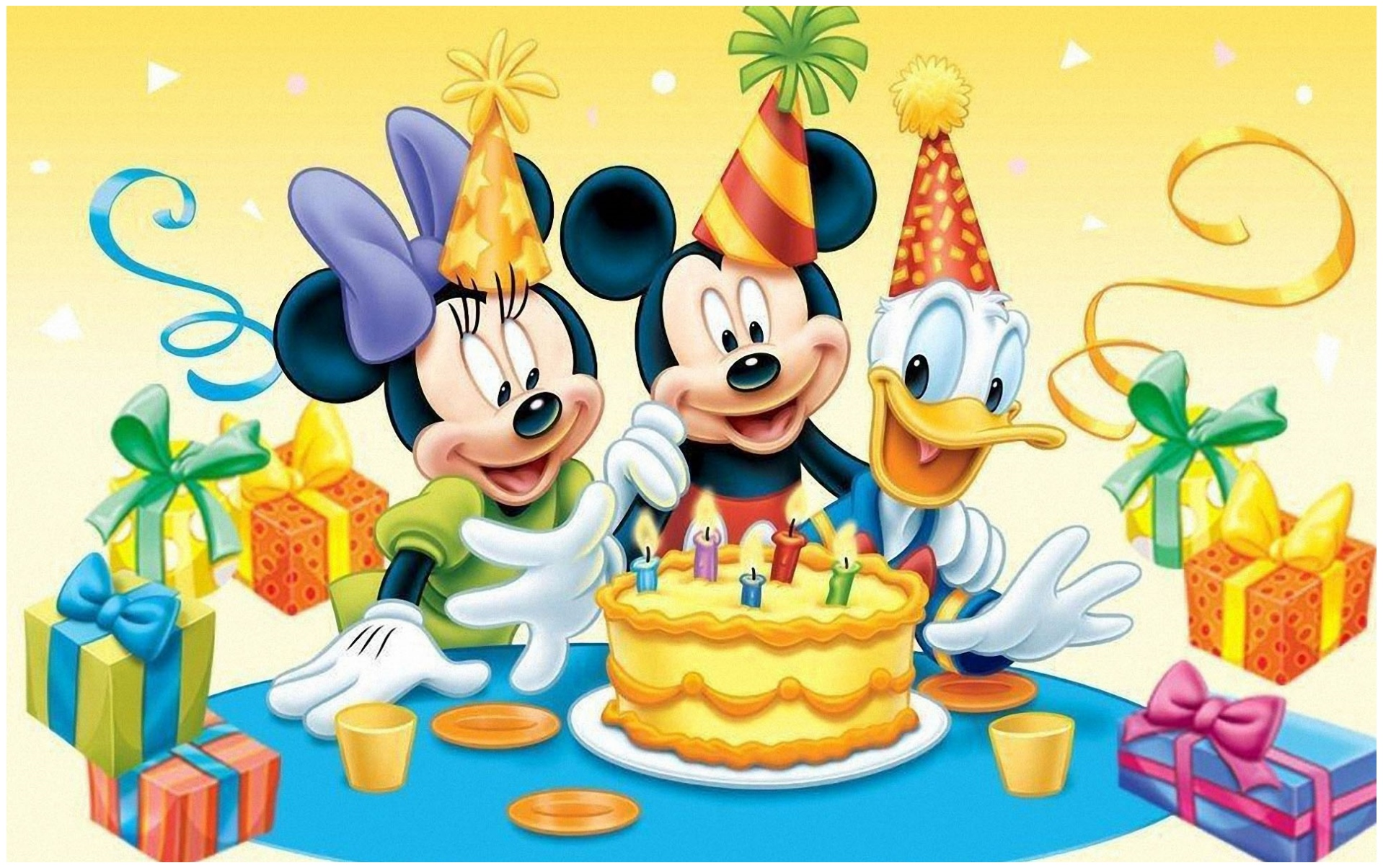 Mickey Mouse Cartoons HD Wallpapers Download