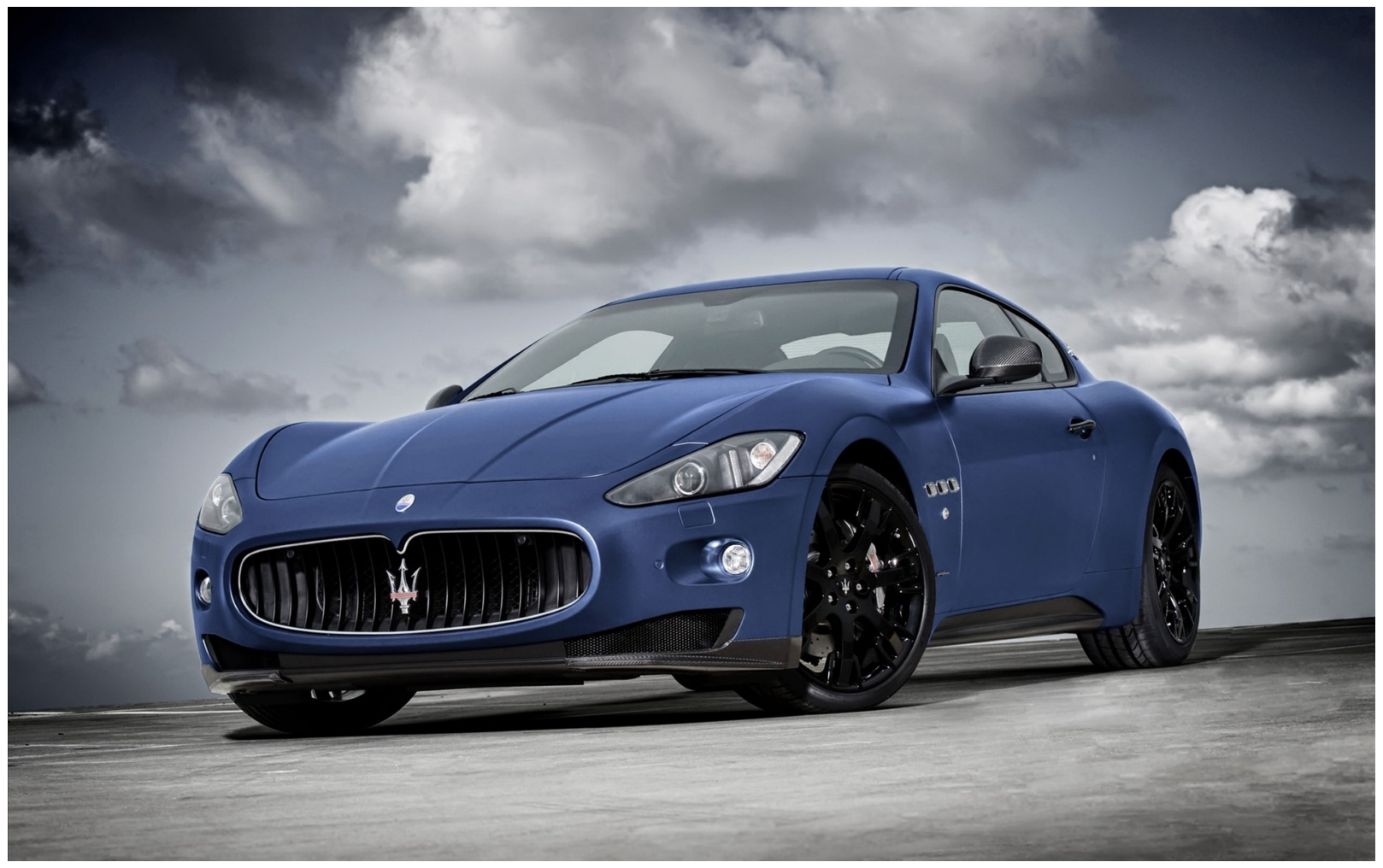 New Maserati Granturismo Hd Car Wallpaper Hd Walls