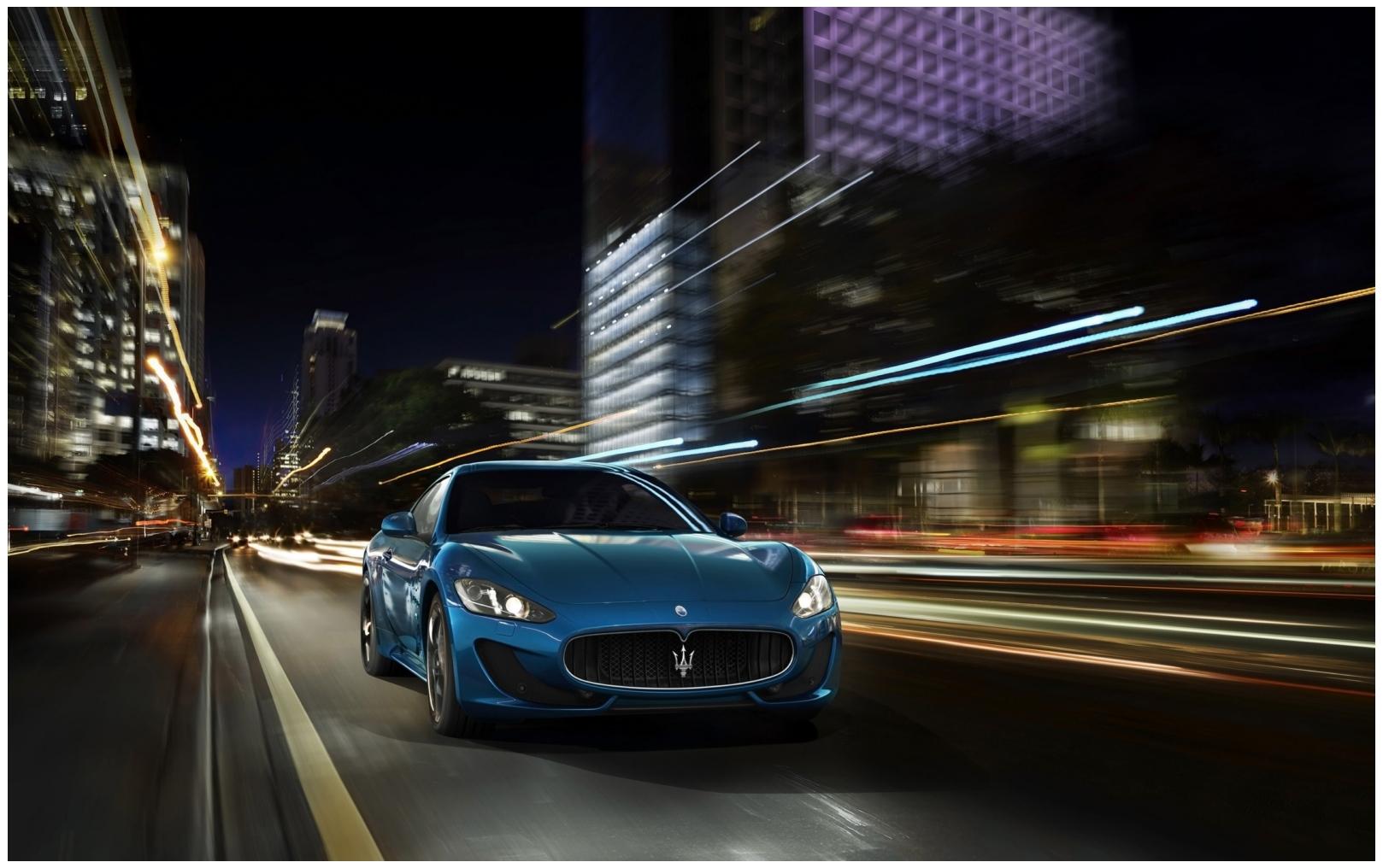New Maserati Granturismo Hd Wallpaper free