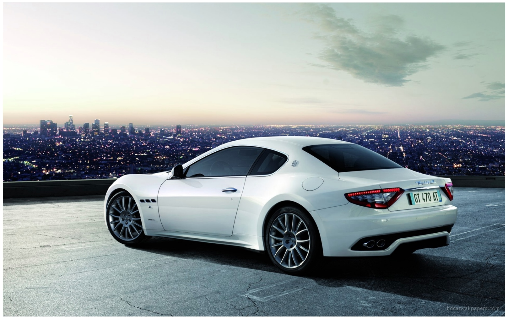 On Road Maserati Granturismo Hd Wallpapers