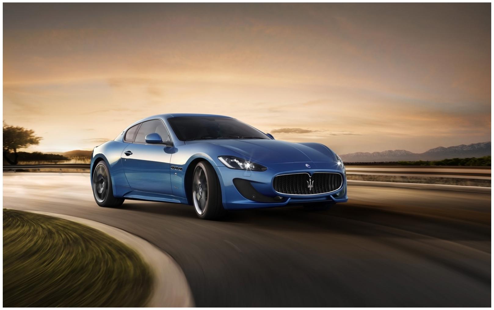 Maserati Granturismo Hd Wallpaper widescreen