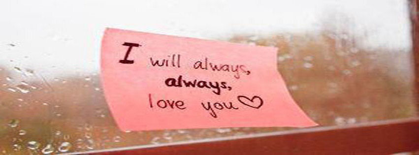 Couple Love Quotes FB cover Pics