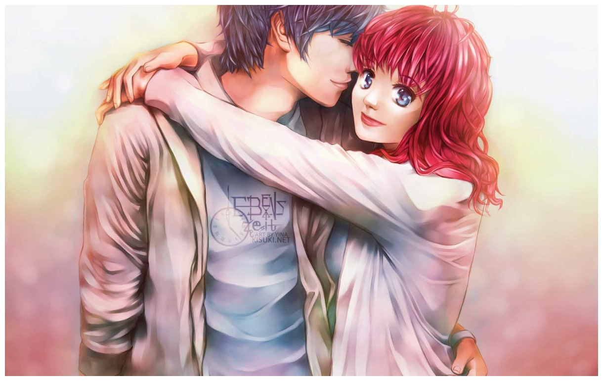Best Romantic Couples Anime Wallpapers