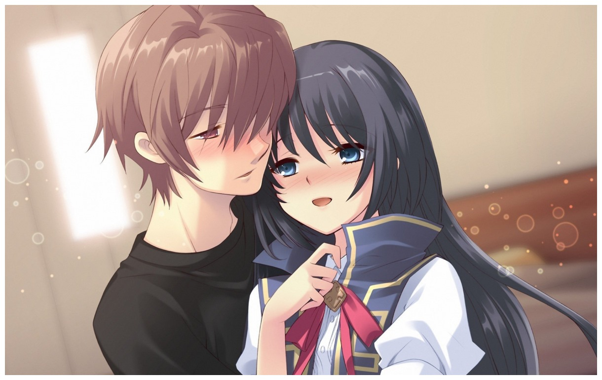 Teen couple Cute Anime Couple Wallpapers