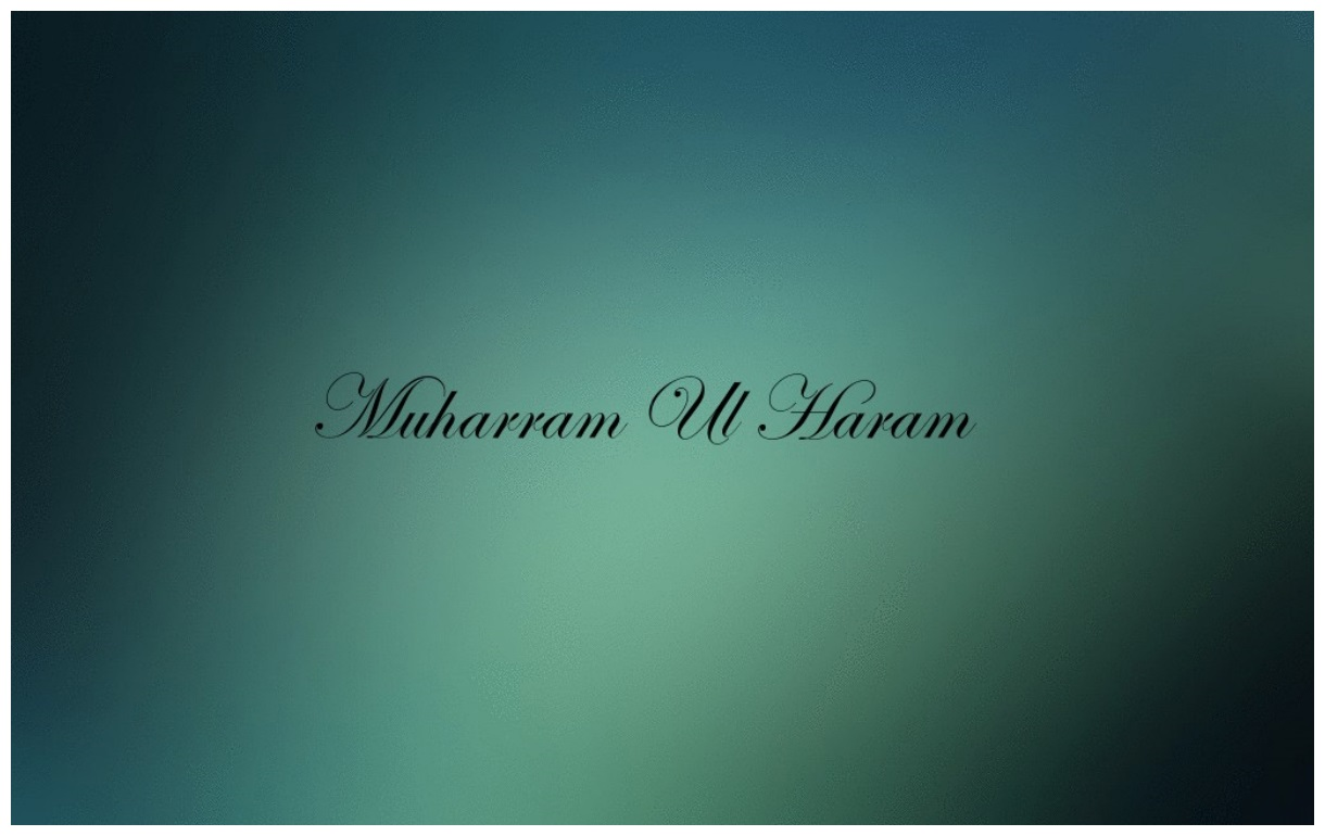 Muhram Ul Haram Hd Wallpaper free