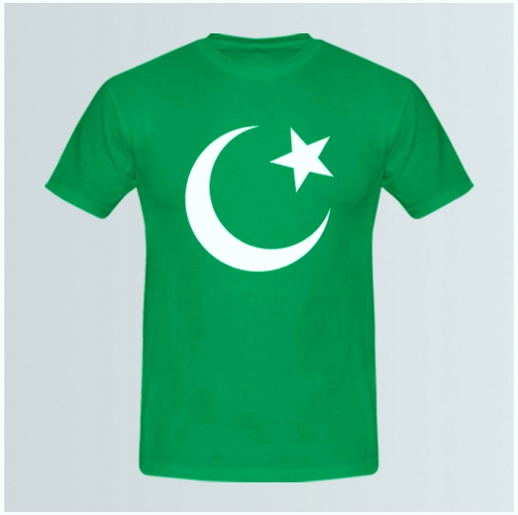 Shirt of Pakistan flag images