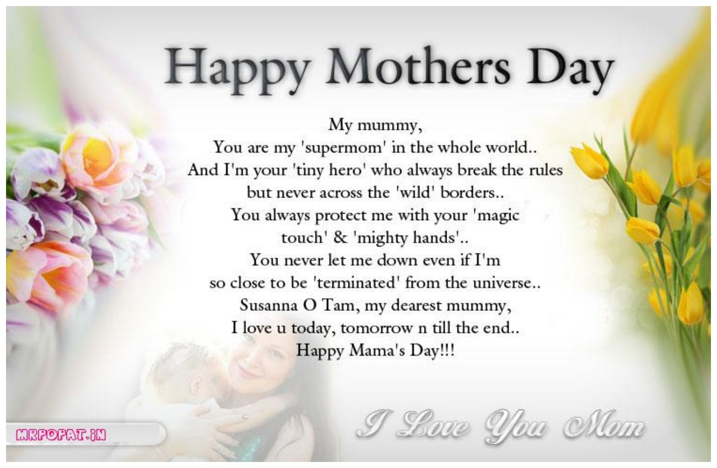 Happy Mother S Day 2019 Love Quotes Wishes And Sayings: Happy Mothers Day 2018 HD Wallpaper Download Free