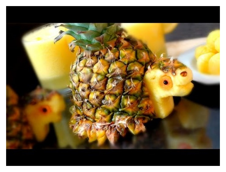 Pineapple Fruits Animal Photos