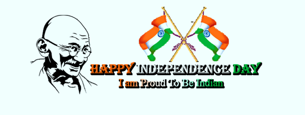 Happy Independence Day Latest Gandhi Jee Image