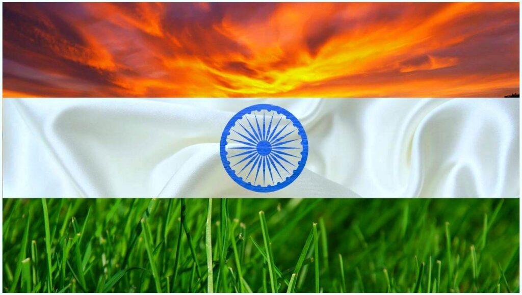 Stylish Hindustan Free Flag HD photos