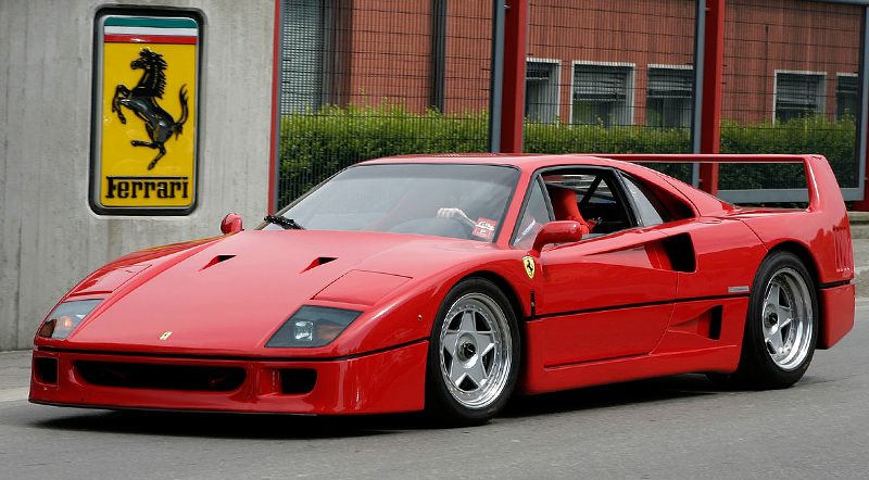 1987 Ferrari F40 HD wallpapers photos images free downlaod
