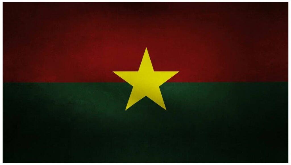 Download wallpapers Flag of Burkina Faso