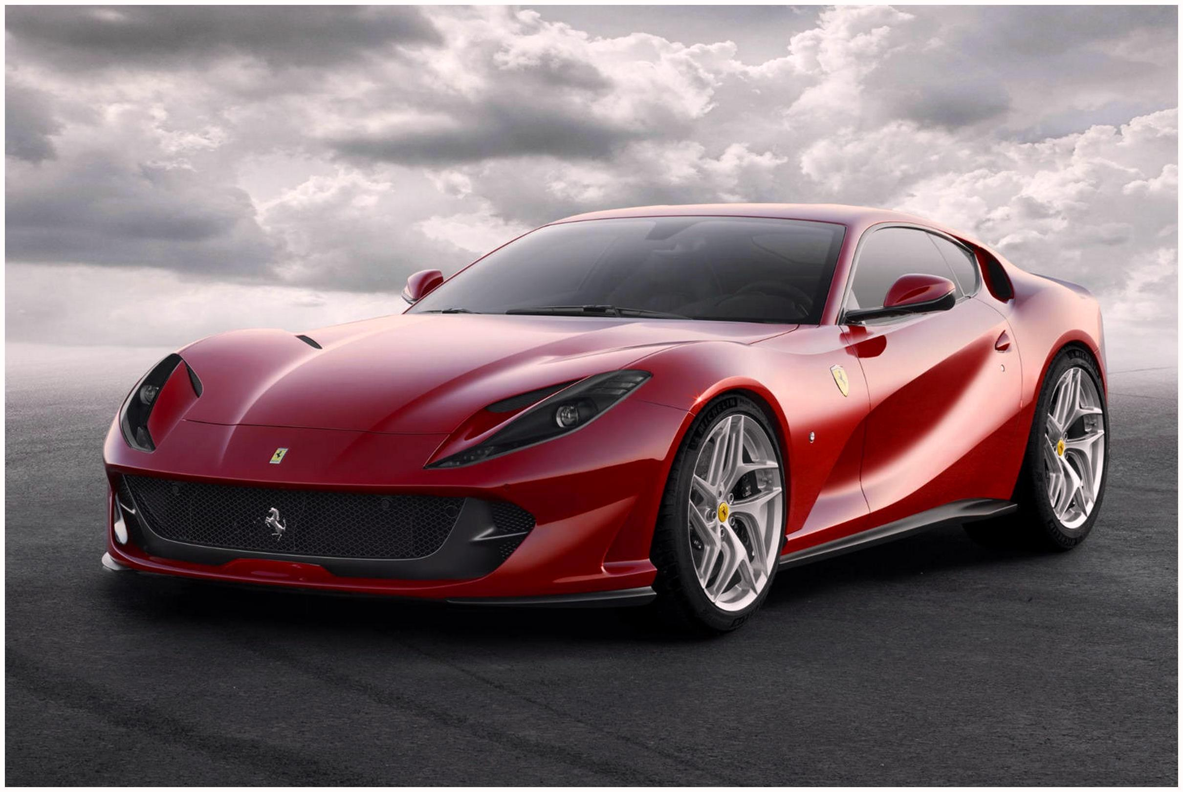 Ferrari 812 Superfast Coupe HD wallpapers 4k images download free